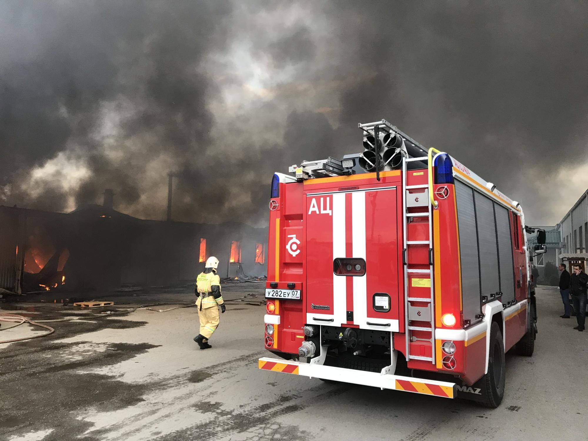 Пожар в г. Прохладный — МЧС России по Кабардино-Балкарской Республике