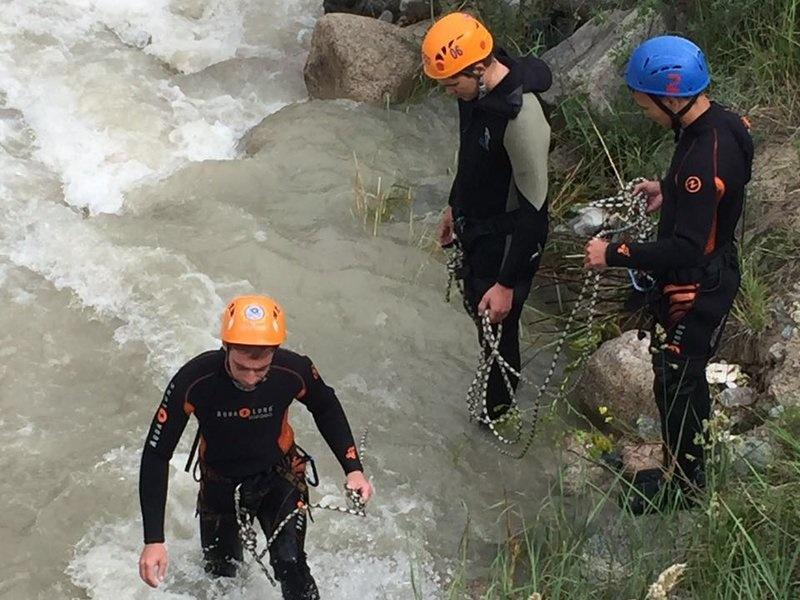Поисково-спасательные работы в Баксанском районе (приостановлены)